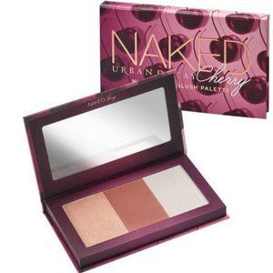 URBAN DECAY CHERRY HIGHLIGHT AND BLUSH PALETTE New